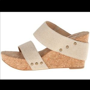 Lucky Brand Magnolia 2 Natural Wedge Sandal 8
